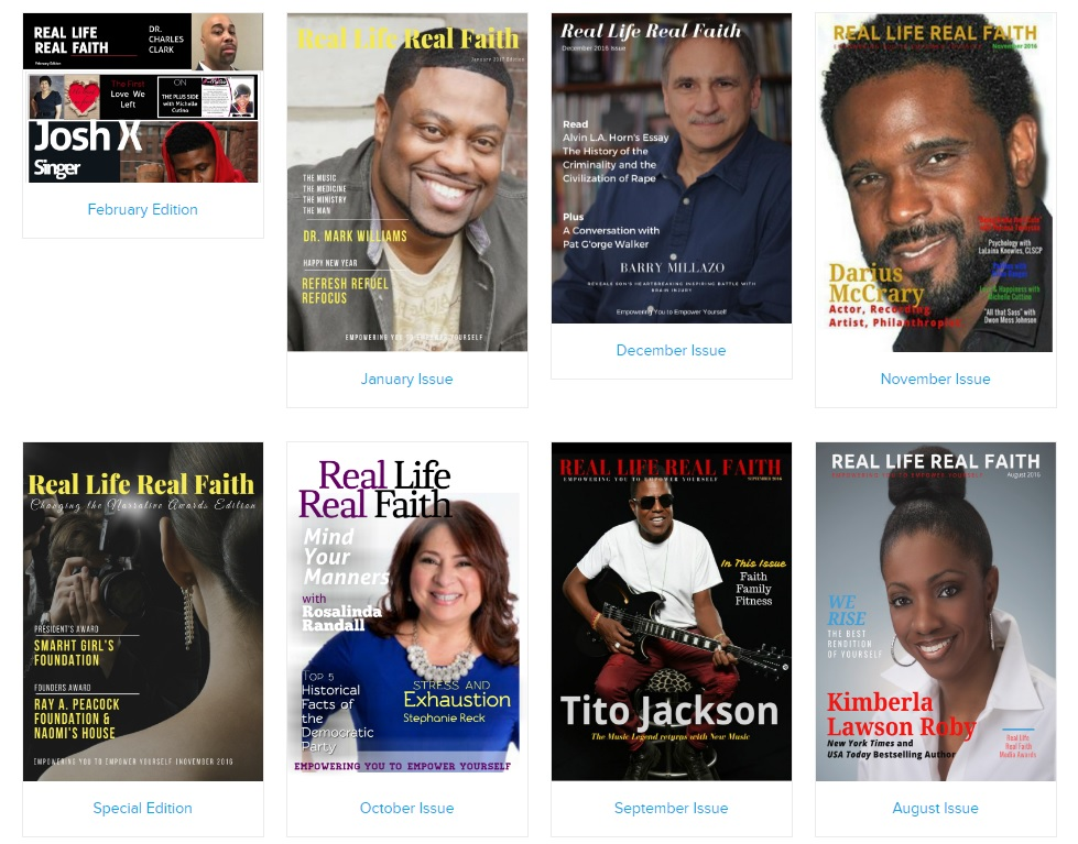 real faith real life magazine