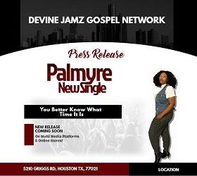 Press Release News - Gospel Singer Palmyre