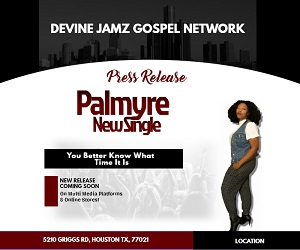 Press Release News - Gospel Singer Palmyre