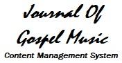 Journal of Gospel Music